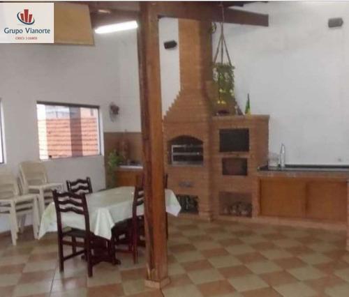 Casa A Venda No Bairro Vila Nivi Em São Paulo - Sp.  - Jv556-1