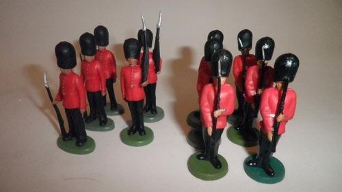Antiguos Royal Guard Soldaditos Britains Herald Hong Kong Uk