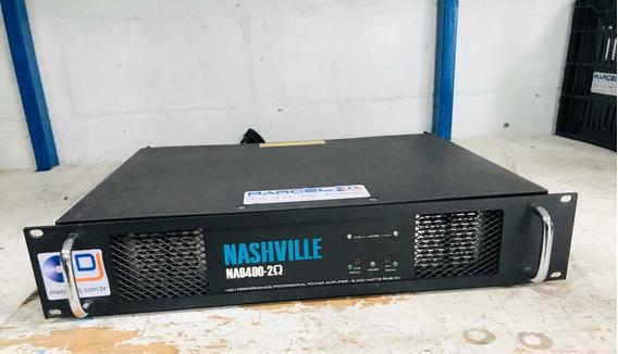 Amplificador Nashville Na 6400 Studior Módulo De Potência