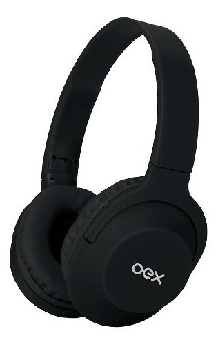 Fone De Ouvido Headphone Flow Cabo Removível Preto Hs207 Oex