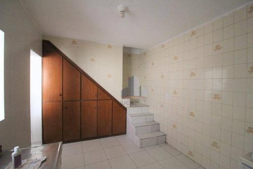 Sobrado Com 2 Dormitórios Para Alugar, 90 M² Por R$ 800,00/mês - Vila Independência - Mauá/sp - So0239