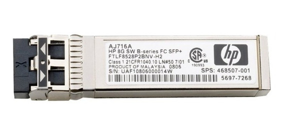 Memoria 8gb Sfp Hp S-wave B-series (aj716b)
