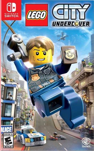 Imagen 1 de 1 de Lego City Undercover- Nintendo Switch Fisico Nuevo