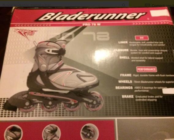 Patines Bladerunner Pro 78 En Condiciones De Nuevos.