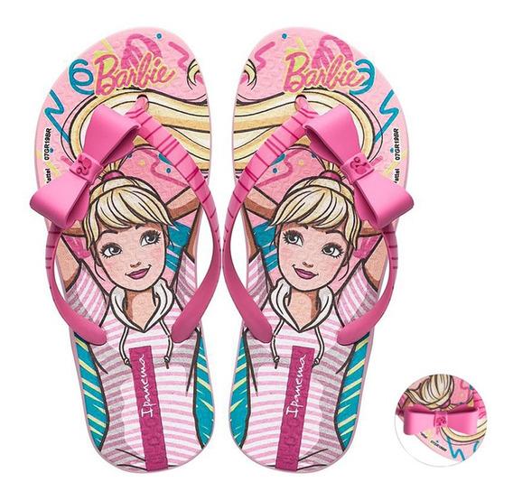 Chinelo Infantil Menina Ipanema Barbie Style Grendene 25729