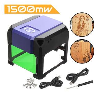 Maquina De Grabado Laser 1500mw Usb Cnc Area Grabado 8cmx8cm