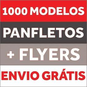 Panfleto Folheto Modelos Editáveis Corel Draw Artes Gráfica
