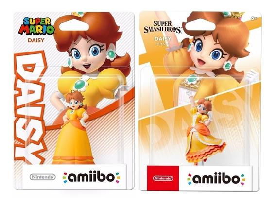 Kit 2 Amiibo Daisy Super Mario + Daisy Smash Bros Switch