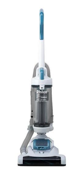 Aspirador Philco Upright 2L cinza, branco e azul 110V