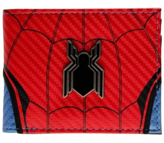 Cartera Spiderman Marvel Billetera Avengers Hombre Araña