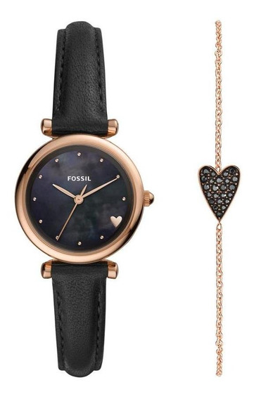 Relógio Fossil Carlie Mini Feminino Es4506set/k1pn
