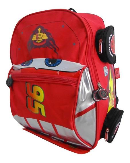 Mochilas Escolares Para Primaria Ruz Cars Rayo Mcqueen 82344