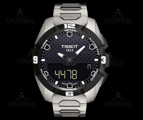 Relógio De Pulso Masculino Tissot T-touch Expert Solar
