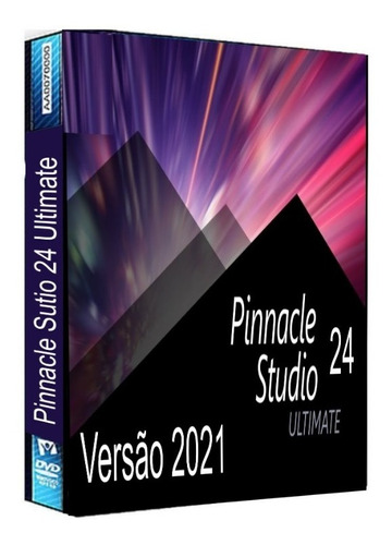Pinnacle Studio 24 Ultimate - Completo Com Todos Os Efeitos