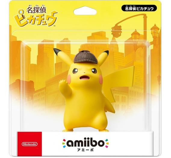 Amiibo Detective Pikachu Detetive Pikachu Nintendo 3ds