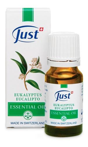 Imagen 1 de 6 de Aceite Esencial De Eucalipto 10ml Just Producto Original