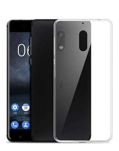 Forro Nokia 3 Transparente Goma Dura Nuevo Protector