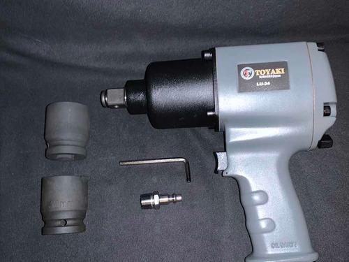 Pistola Llave De Impacto Neumática 3/4 Pulgadas Toyaki