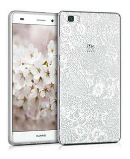 Funda Funda De Vidrio Kwmobile Para Huawei P8 Lite (2015) H