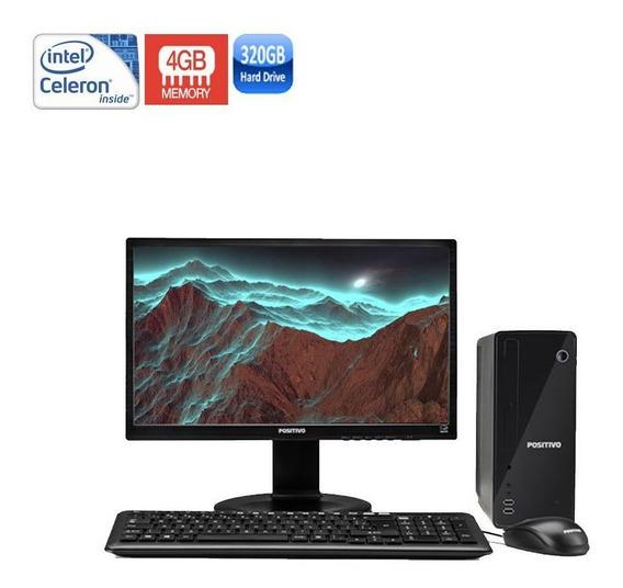 Computador Positivo Stilo Ds3515 Celeron 4gb Hd320gb + Wi-fi