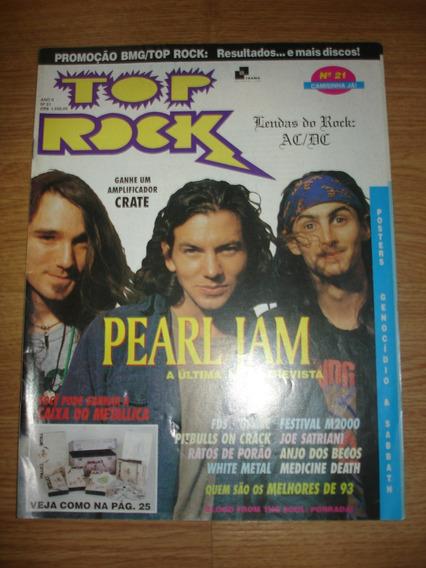 Revista Top Rock Nº 21 (posters Sabbath E Genocidio)