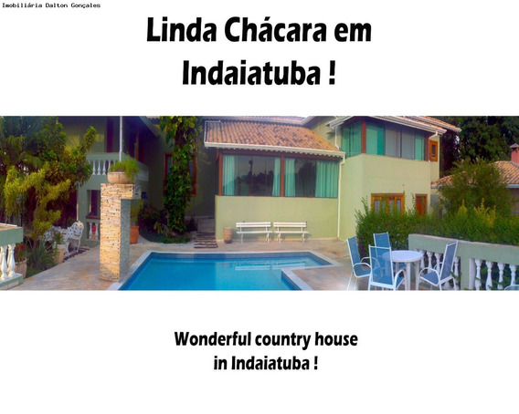 Chácara Para Venda E Locação - Mosteiro De Itaici, Indaiatuba / Sp - Ch00332 - 1631299