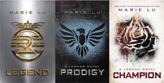 Coleção Completa Trilogia Legend-marie Lu