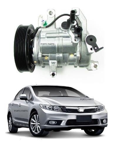 Imagem 1 de 3 de Compressor Ar Condicionado Honda Civic 2012 A 2016 Original