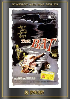 Las Garras Del Murciélago( The Bat)( Vincent Price) Dvd