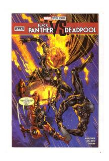 Black Panther Vs Deadpool # 3 - Editorial Televisa