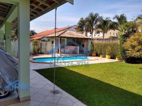 Condomínio Nova Higienópolis Casa Com 3 Dormitórios À Venda, 220 M² Por R$ 1.100.000 - Nova Higienópolis - Jandira/sp - Ca0382