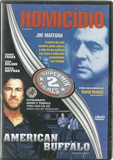 Dvd - 2 Filmes - Homicídio + American Buffalo - Original