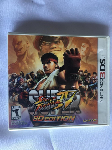 Super Street Fighter 4 3d Edition Nintendo 3ds