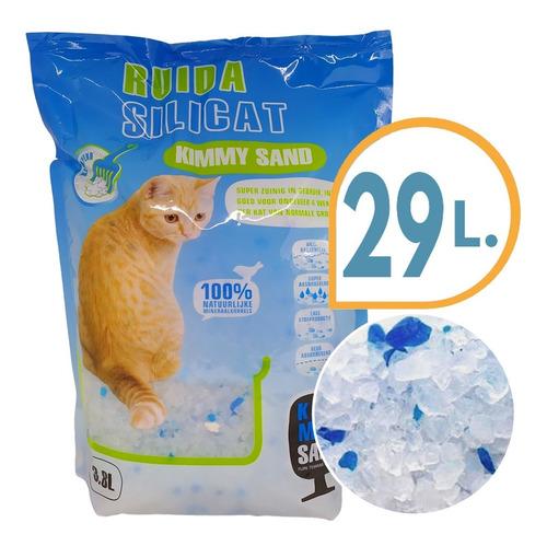 Imagen 1 de 3 de Piedra Sanitaria Gel Para Gato Silica 12 Kg + Envio Gratis
