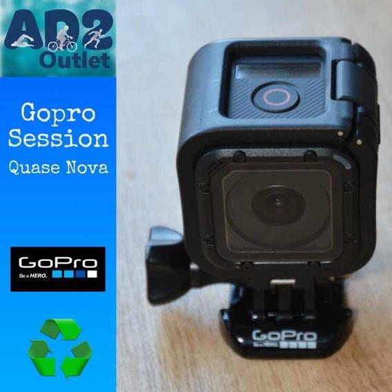 Gopro Hero Session Seminova + Cartão 32gb + Acessórios
