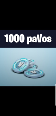 1000 Pavos Fortnite