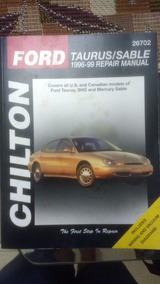 Manual Chilton Ford Taurus 1996 A 99