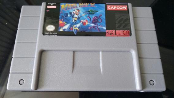 Cartucho Jogo Mega Man X Paralelo Para Snes