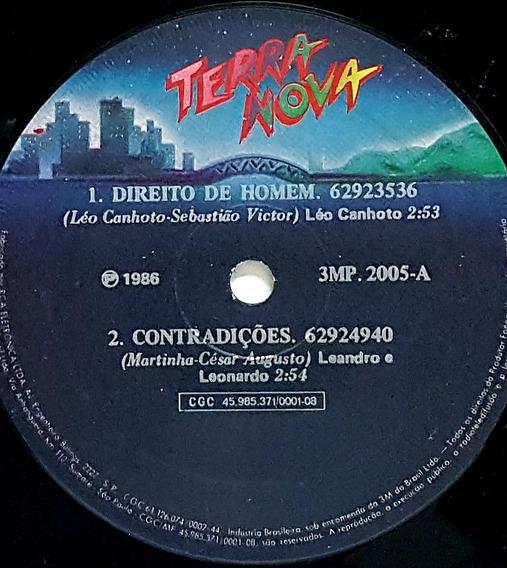 Compacto Direito De Homem - Leo Canhoto - Terra Nova 1986 -
