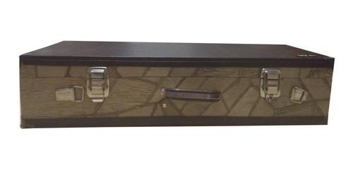 Imagem 1 de 4 de Case Estojo Maleta Wc Top Luxo Térmico Cavaco Bicolor 1