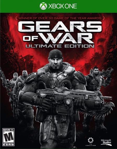 Jogo Gears Of War Xbox One - Mídia Física