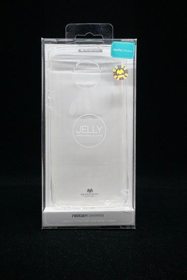 Funda Moto G6 Plus Mercury Goospery Transparente Jelly