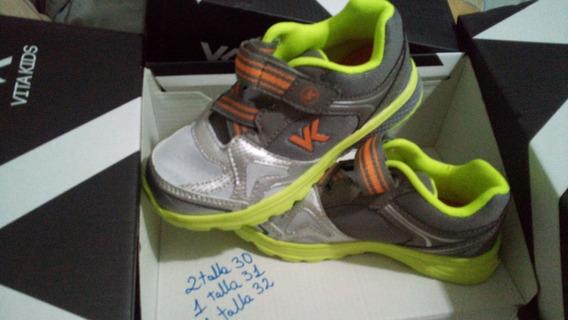 Zapatos Deportivos Vita Kip Infantiles 31 32 33
