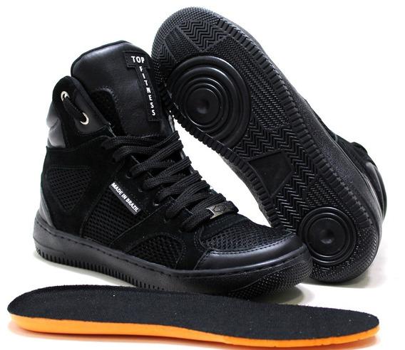 Botinha Estilo Sneakers Exclusiva Academia Musculação Jump