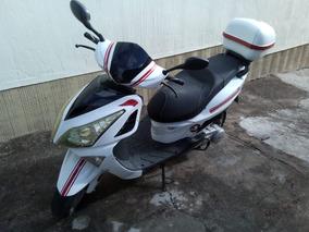 Moto Italika 150 C.c Color Blanco, 2014