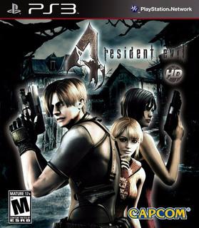 Resident Evil 4 Hd Ps3 Digital Tenelo Hoy!!