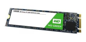 Hd Ssd 120gb Wd Green M.2 Leituras: 545mb/s Sata 6gb/s