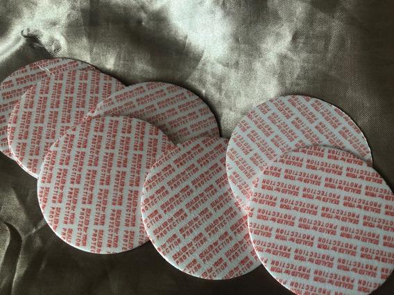 Envases Sellos Sensitivos Liners Diam 6.3cm Paq 200 Pzas R63