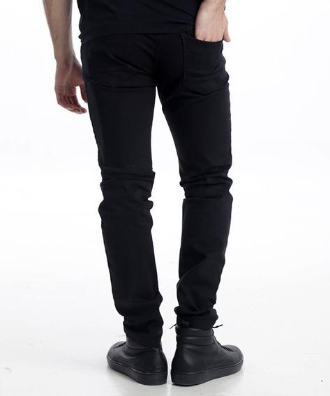 Pantalón Gabardina Negro Elastizado