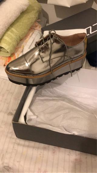 Zapatos Importados Arezzo Blucher-sarkany-zara